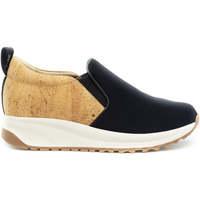 Zapatos Mujer Slip on Nae Vegan Shoes Veka NeoCork preto