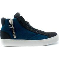 Zapatos Zapatillas altas Nae Vegan Shoes Milan Pet Blue azul