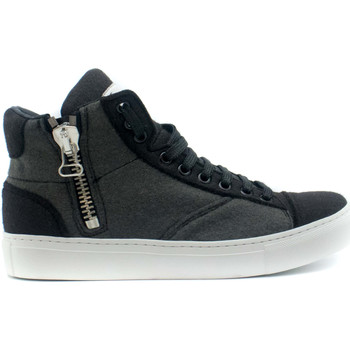 Zapatos Zapatillas altas Nae Vegan Shoes Milan Pet Grey Gris