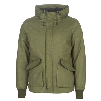 textil Hombre cazadoras Scotch & Soda SHORT HOODED JACKET WITH INSIDE QUILTING Kaki