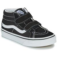 Zapatos Niños Zapatillas altas Vans UY SK8-MID REISSUE V Negro / Blanco