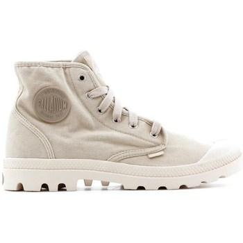 Zapatos Hombre Zapatillas altas Palladium Manufacture Pampa HI Beige