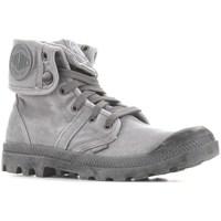 Zapatos Hombre Zapatillas altas Palladium Manufacture Baggy Titanium High Rise Grises