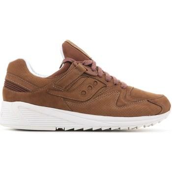 Zapatos Hombre Zapatillas bajas Saucony Grid 8500 HT Marrón
