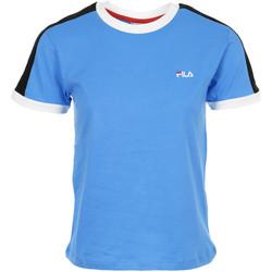 textil Mujer camisetas manga corta Fila Noreen Tee Wn's Azul