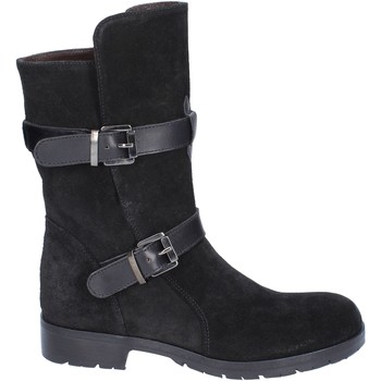 Zapatos Mujer Botas urbanas Triver Flight botines gamuza negro