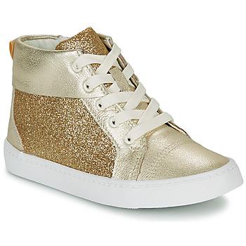 Zapatos Niña Zapatillas altas Clarks CITY OASISHI K Oro