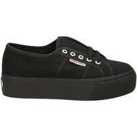 Zapatos Mujer Zapatillas bajas Superga 2790ACOTW LINEA UP AND DOWN 996-full-black