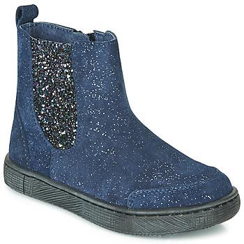 Zapatos Niña Botas de caña baja Mod'8 BLABIS Marino