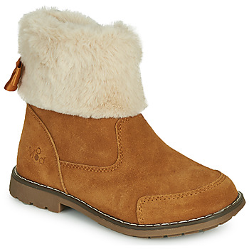 Zapatos Niña Botas de caña baja Mod'8 STELIE Cognac