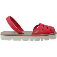 Zapatos Mujer Sandalias Mykai Avarcas MyKai Nur Sandalias Avarcas Casual de Mujer rojo