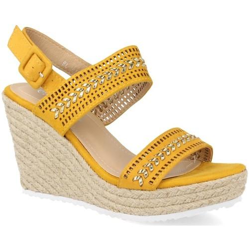 Amy BL101 Amarillo - Envío gratis | ! - Zapatos Alpargatas Mujer