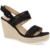 Zapatos Mujer Alpargatas Amy BL101 Negro