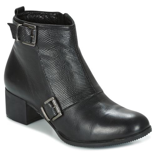 Zapatos casuales salvajes Zapatos especiales Andrea Conti CASTEL Negro