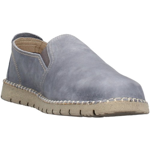 CallagHan - Slip on jeans 84701 BLU - Zapatos Slip on Hombre