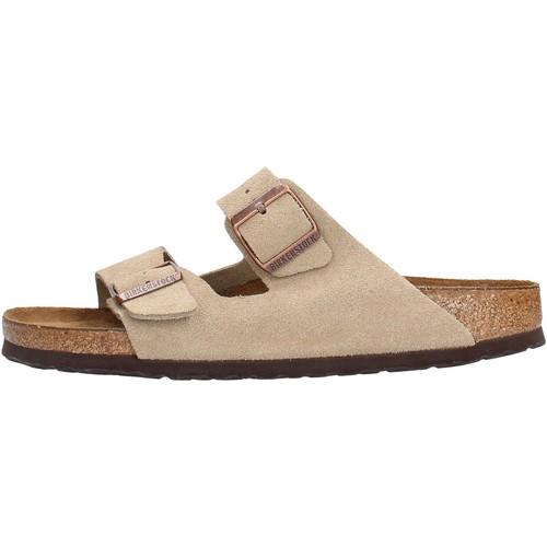 Birkenstock - Arizona beige 951303 BEIGE - Zapatos Zuecos (Mules) Hombre