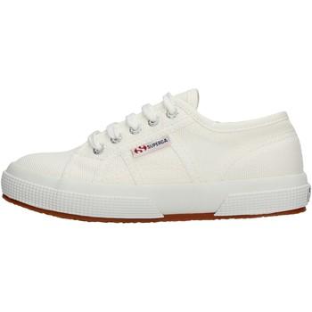 Zapatos Niña Zapatillas bajas Superga - Sneaker da Bambino Bianco in Pelle S0003C0 2750 901