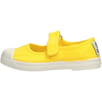 Zapatos Niña Tenis Natural World - Scarpa velcro giallo 476-504 GIALLO