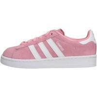 Zapatos Niña Zapatillas bajas adidas Originals - Campus c rosa CG6653 ROSA