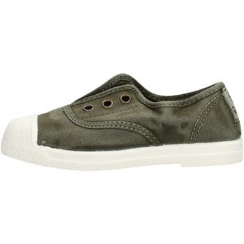 Zapatos Niño Zapatillas bajas Natural World - Scarpa elast kaki 470E-622