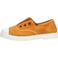 Zapatos Niño Zapatillas bajas Natural World - Scarpa elast senape 470E-646