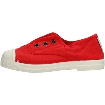 Zapatos Niño Zapatillas bajas Natural World - Scarpa lacci rosso 470-502
