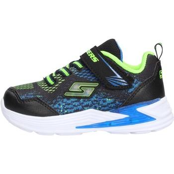 Zapatos Niño Zapatillas bajas Skechers - Derlo nero/blu 90563N BBLM NERO