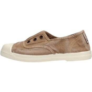 Zapatos Niño Zapatillas bajas Natural World - Scarpa elast beige 470E-621