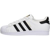 Zapatos Niño Zapatillas bajas adidas Originals - Sneaker da Bambino Bianco in Pelle C77154