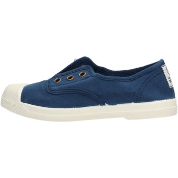Zapatos Niño Zapatillas bajas Natural World - Scarpa lacci azul 470-548 BLU