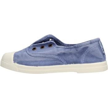 Zapatos Niño Tenis Natural World - Scarpa elast celeste 470E-690 BLU