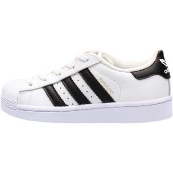 Zapatos Niño Zapatillas bajas adidas Originals - Sneaker da Bambino Bianco in Pelle BA8378