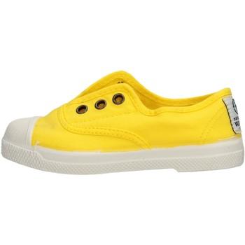 Zapatos Niño Zapatillas bajas Natural World - Scarpa lacci giallo 470-504 GIALLO