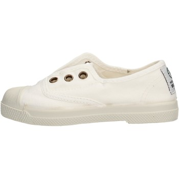 Zapatos Niña Zapatillas bajas Natural World - Scarpa lacci bianco 470-505