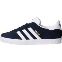 Zapatos Niño Zapatillas bajas adidas Originals - Sneaker da Bambino Blu in Pelle BY9144