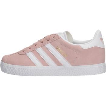 Zapatos Niña Zapatillas bajas adidas Originals - Sneaker da Bambino Rosa in Pelle BY9548