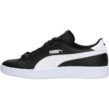 Zapatos Niño Zapatillas bajas Puma - Sneaker da Bambino Nero in Pelle 365170-03