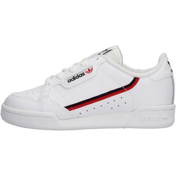 Zapatos Niño Zapatillas bajas adidas Originals - Continental 80 c bianco G28215 BIANCO