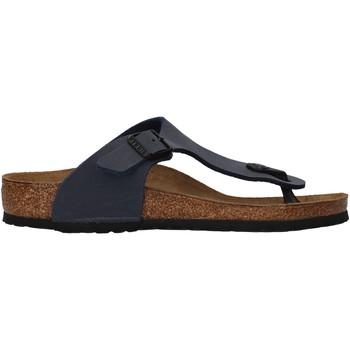 Zapatos Niño Chanclas Birkenstock - Gizeh blu 345443