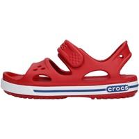Zapatos Niño Zapatos para el agua Crocs - Crocband ii sand rosso 14854 ROSSO