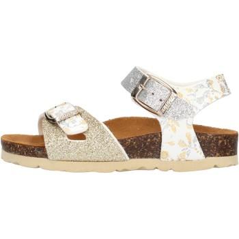 Zapatos Niña Sandalias Gold Star - Sandalo platino 1846L ARGENTO