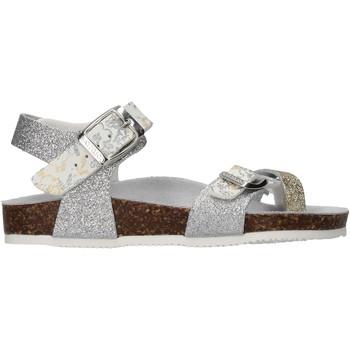Zapatos Niña Sandalias Gold Star - Sandalo platino 8896L ARGENTO