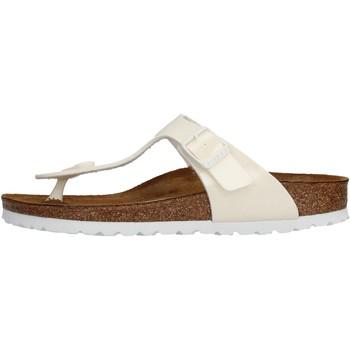 Zapatos Niña Chanclas Birkenstock - Gizeh bianco 847223 BIANCO