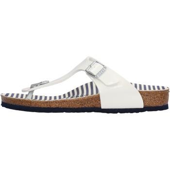 Zapatos Niña Chanclas Birkenstock - Gizeh bianco 1012724 BIANCO