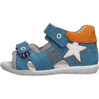 Zapatos Niño Sandalias de deporte Balducci - Sandalo celeste/arancione CITA2512 CELESTE