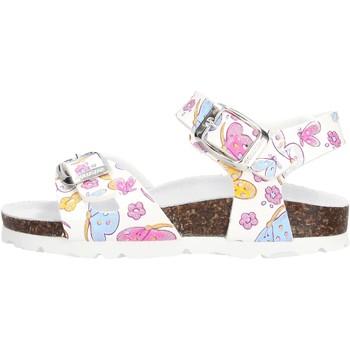 Zapatos Niña Sandalias Gold Star - Sandalo bco fantasia 1846E BIANCO