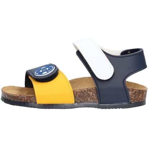 Gold Star - Sandalo blu /giallo/bco 8852 MULTICOLORE - Zapatos Sandalias Nino