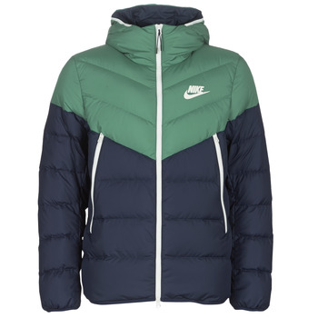 textil Hombre Plumas Nike M NSW DWN FILL WR JKT HD Marino / Verde