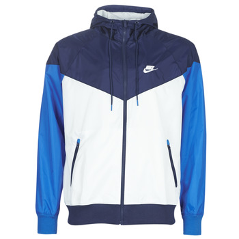 textil Hombre Cortaviento Nike M NSW HE WR JKT HD Azul / Blanco
