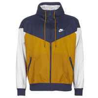 textil Hombre Cortaviento Nike M NSW HE WR JKT HD Marino / Oro